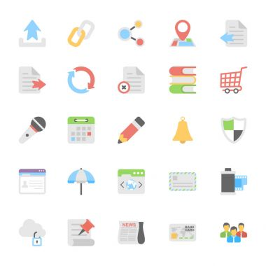 This Web Design Flat Vector Icons Pack is useful for web designers, graphic designers, web design templates, blogs of any kind of personal or commercial project. icon
