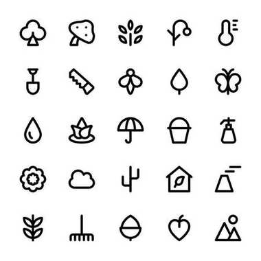Need a set of awesome nature vectors. Just check out this Nature and Ecology Flat Vector Icons pack. Beautiful nature artwork to add to your forest, tree, floral and garden vector design projects. icon