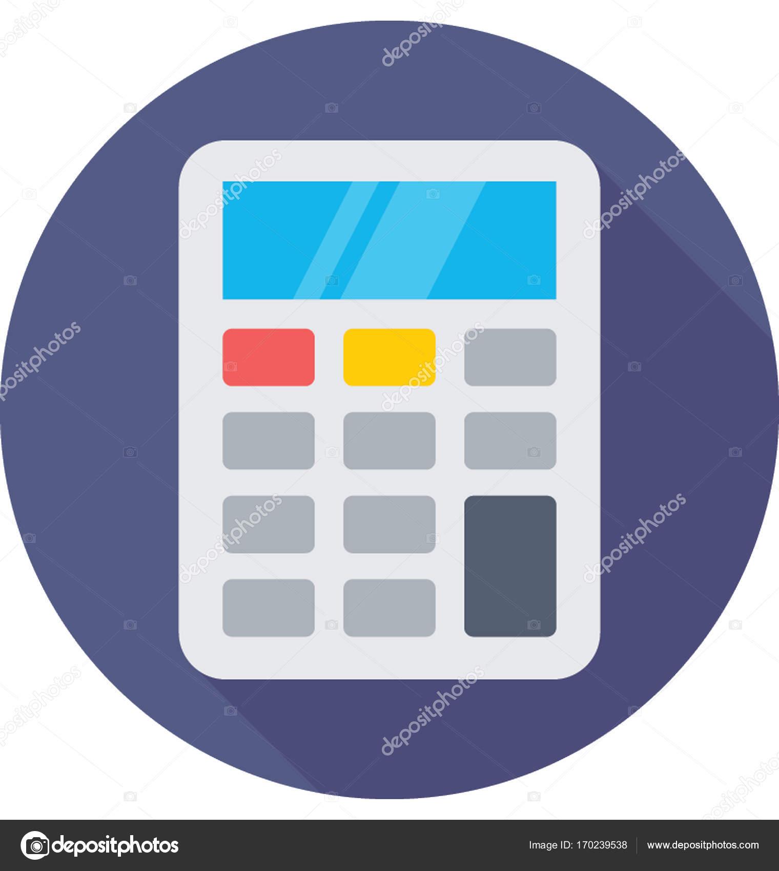 Cone de calculadora vector vetores de stock creativestall cone de vetor colorido de cincia e tecnologia vetor de creativestall ccuart Image collections