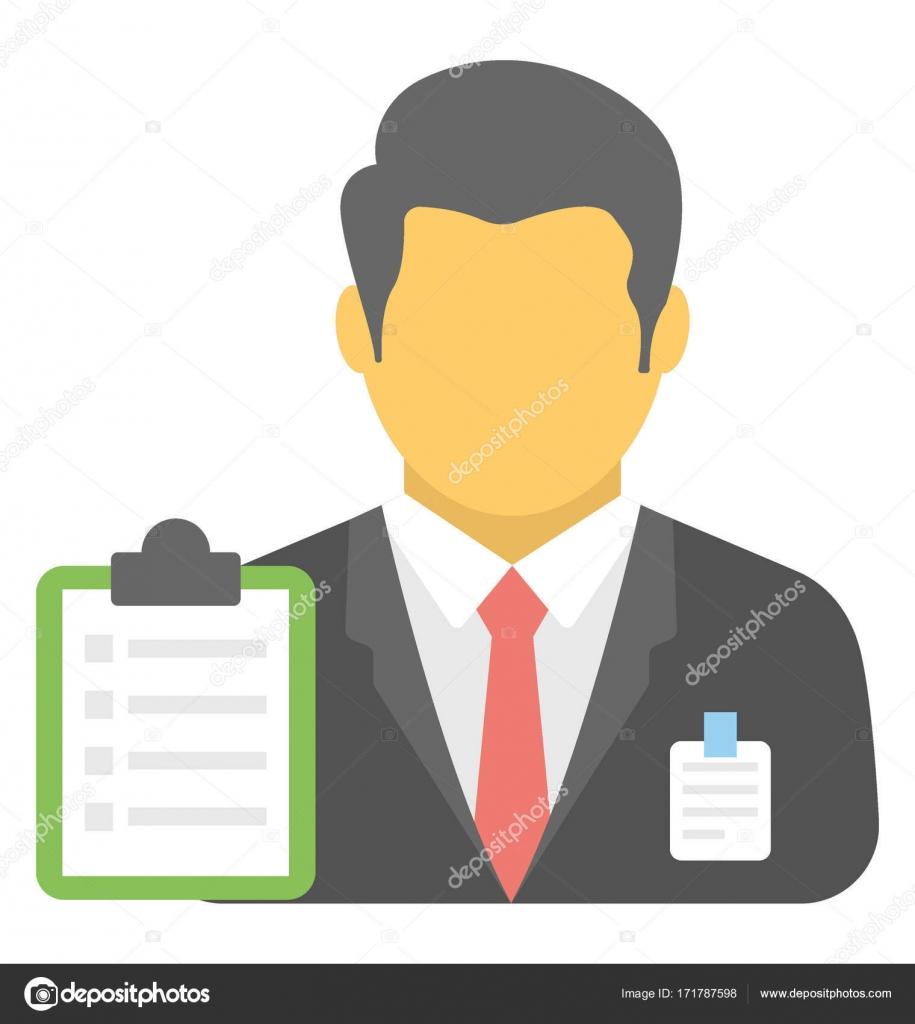 supervisor vector icon stock vector creativestall 171787598