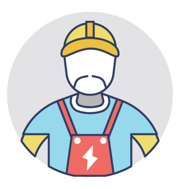 Electrician Vector Icon