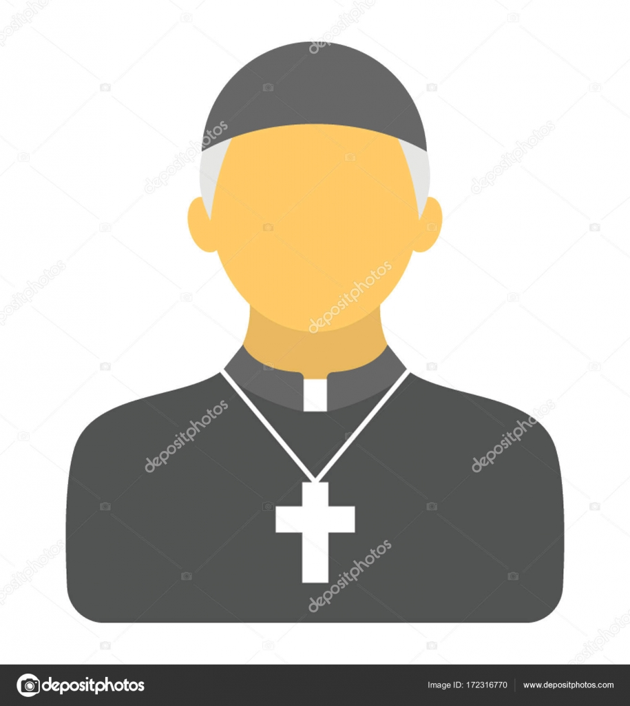 Priest vector icon stock vector creativestall 172316770 for Stock cuisine saint priest