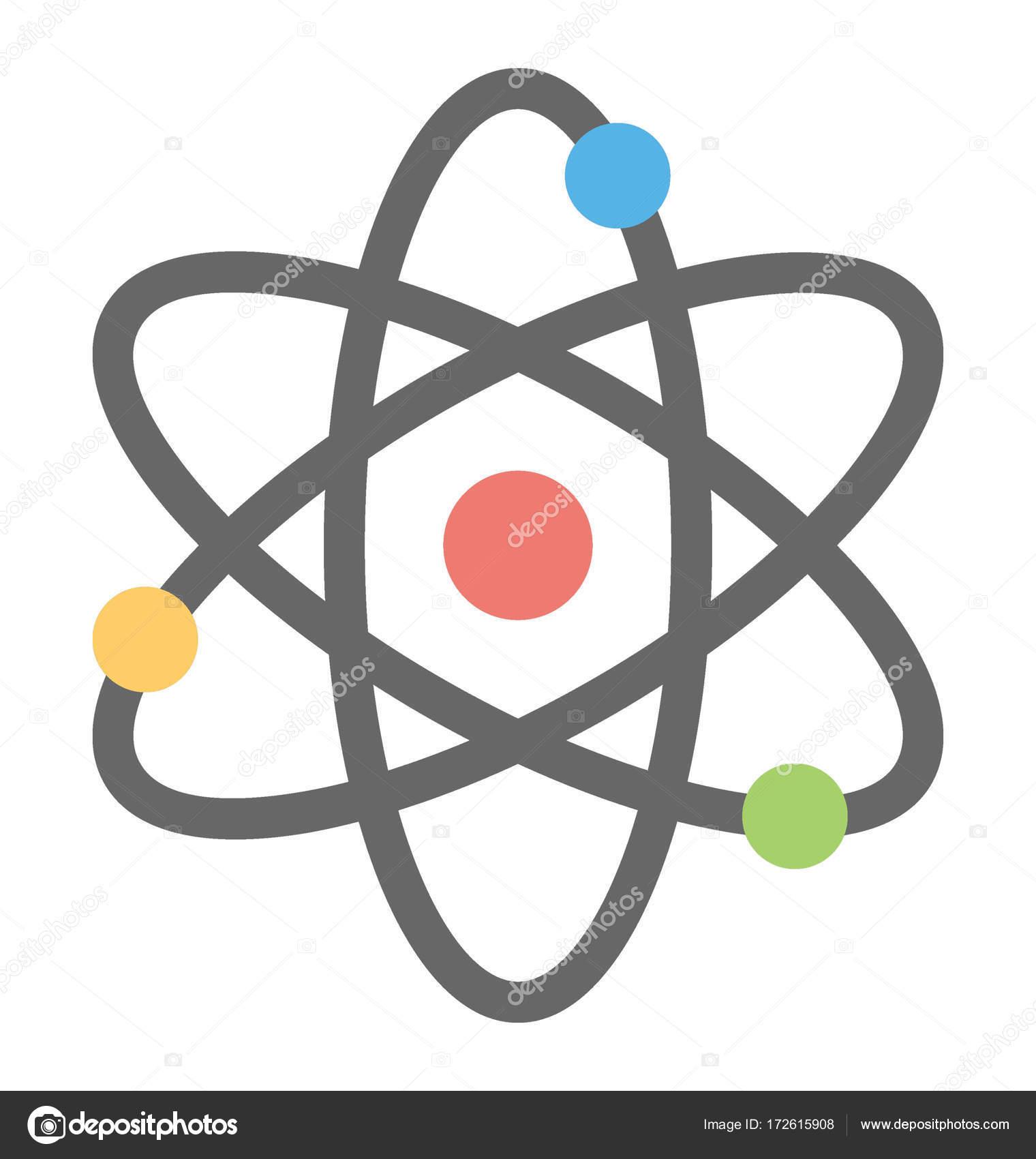 neutron atom vector icon stock vector creativestall 172615908