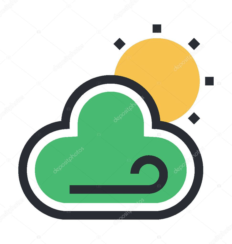 Weather Colored Vector Icon