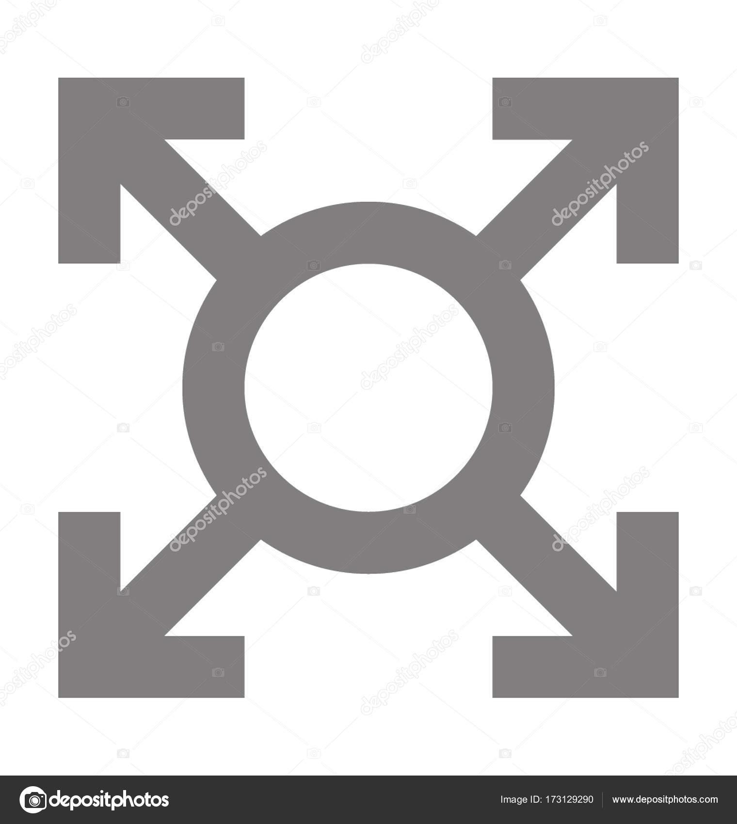 Meeting Point Vector Icon Stock Vector Creativestall 173129290