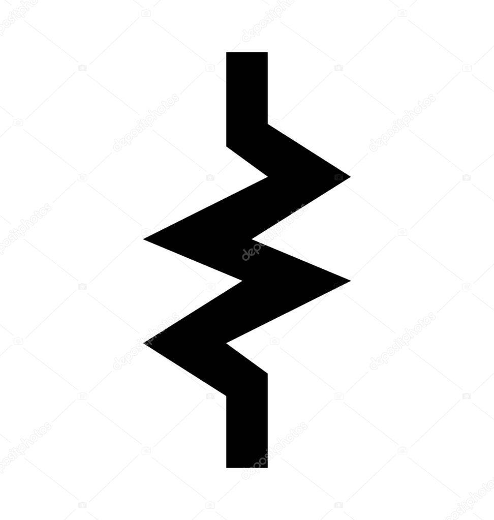Fantastisch Elektrisches Symbol Für Widerstand Galerie - Schaltplan ...
