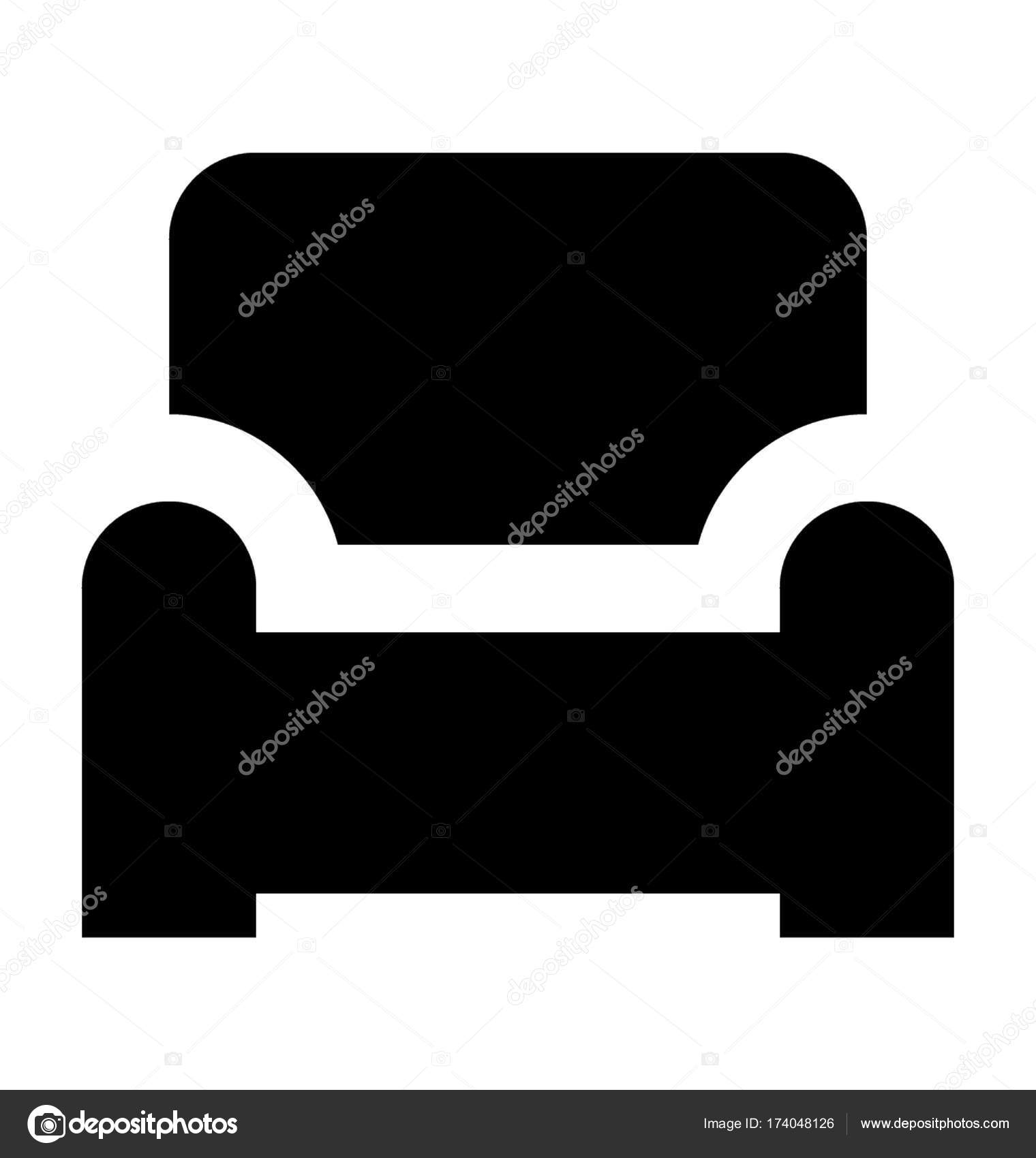 Sofa Vector Icon Stock Vector C Creativestall 174048126