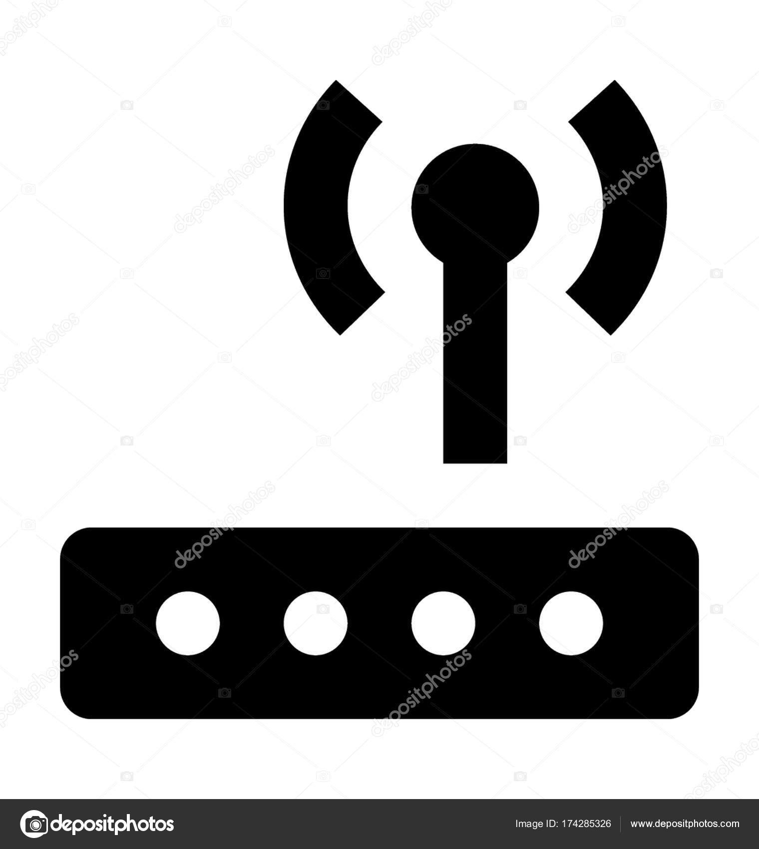 Fantastisch Wlan Router Symbol Bilder - Schaltplan Serie Circuit ...