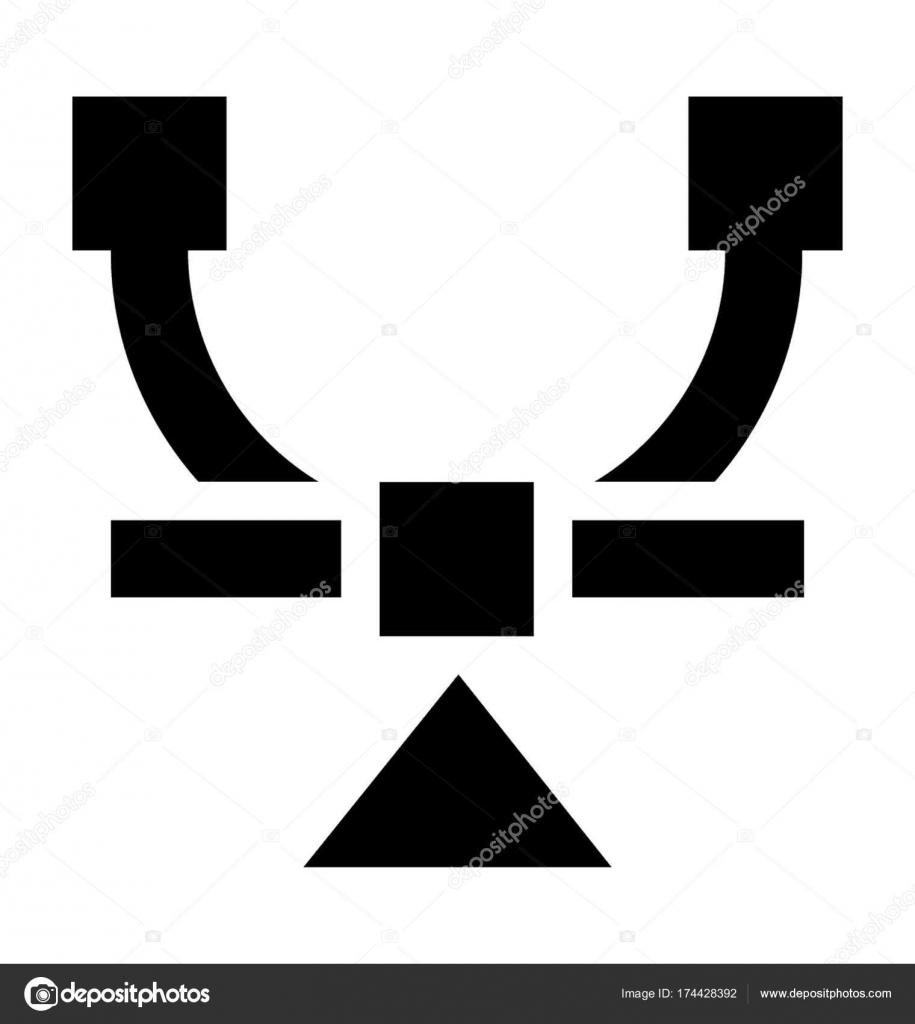 Bezier Tool Vector Icon — Stock Vector © creativestall