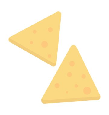 Corn Chips Vector Icon
