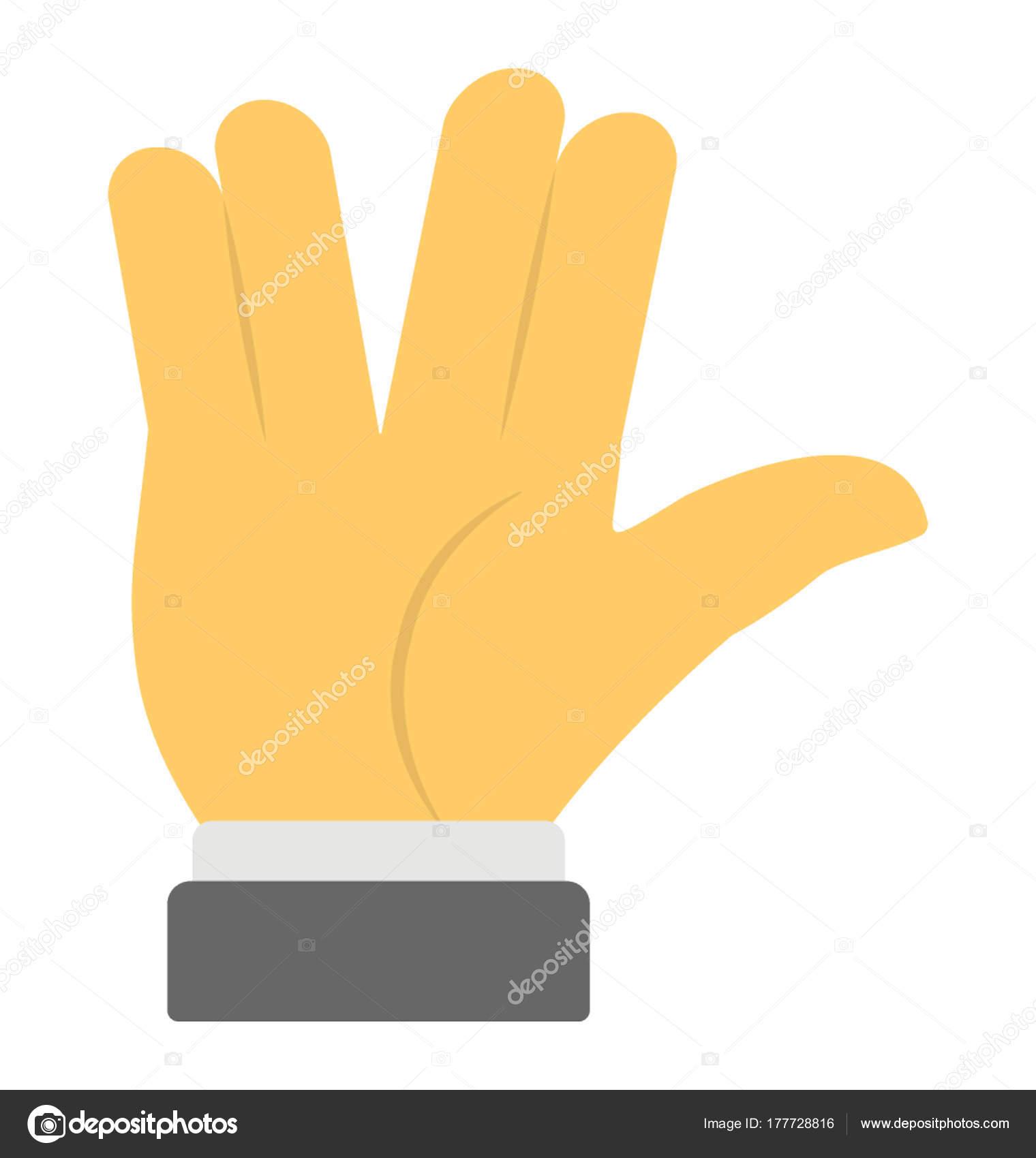 人差し指と中指 薬指と小指の間にスペースを作りながら一緒に共同