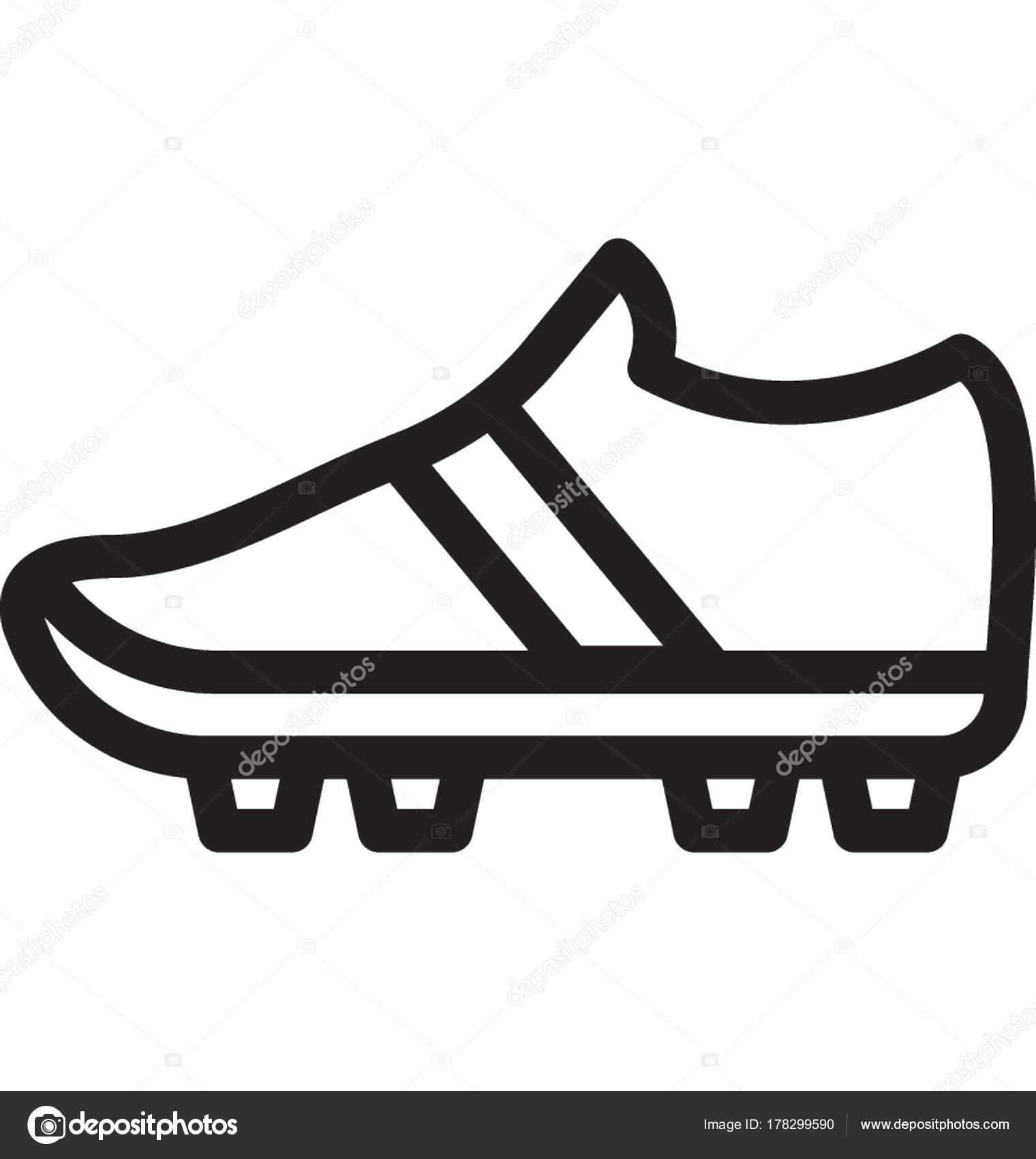 Vector Fútbol Archivo — Icono Zapato Imágenes Vectoriales 35Rj4AL