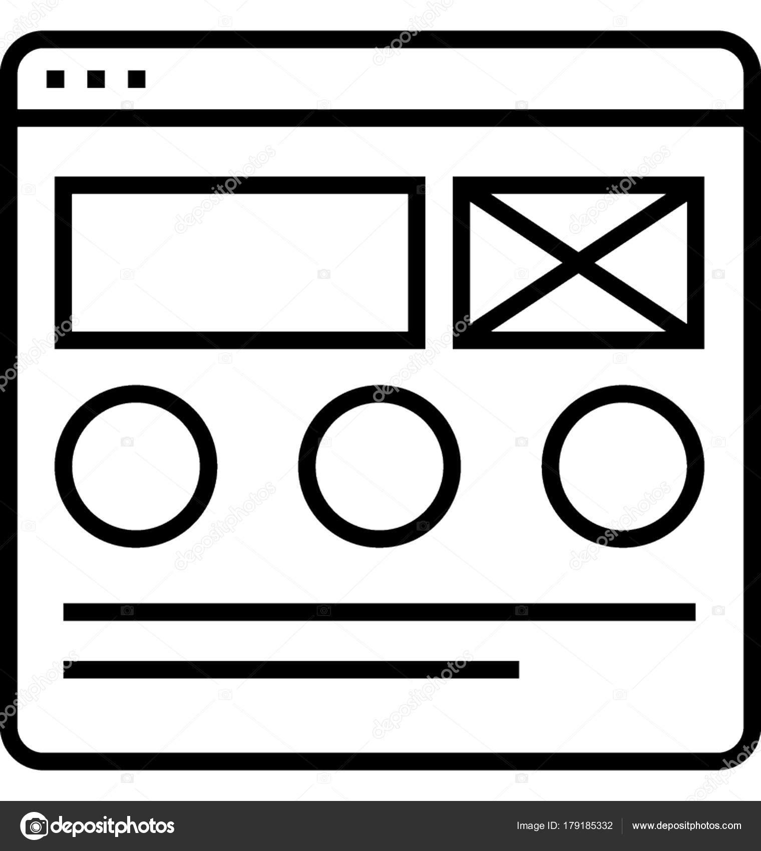 Marco Alambre Vector Icono — Vector de stock © creativestall #179185332