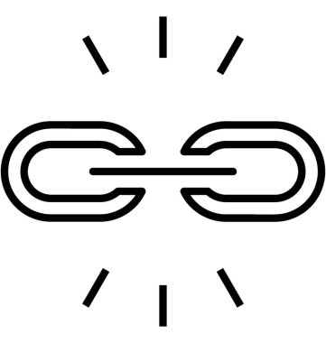 Links Building Vector Icon