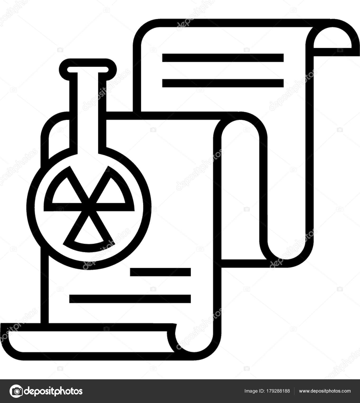 Reports Quarantine Vector Icon Stock Vector Creativestall 179288188