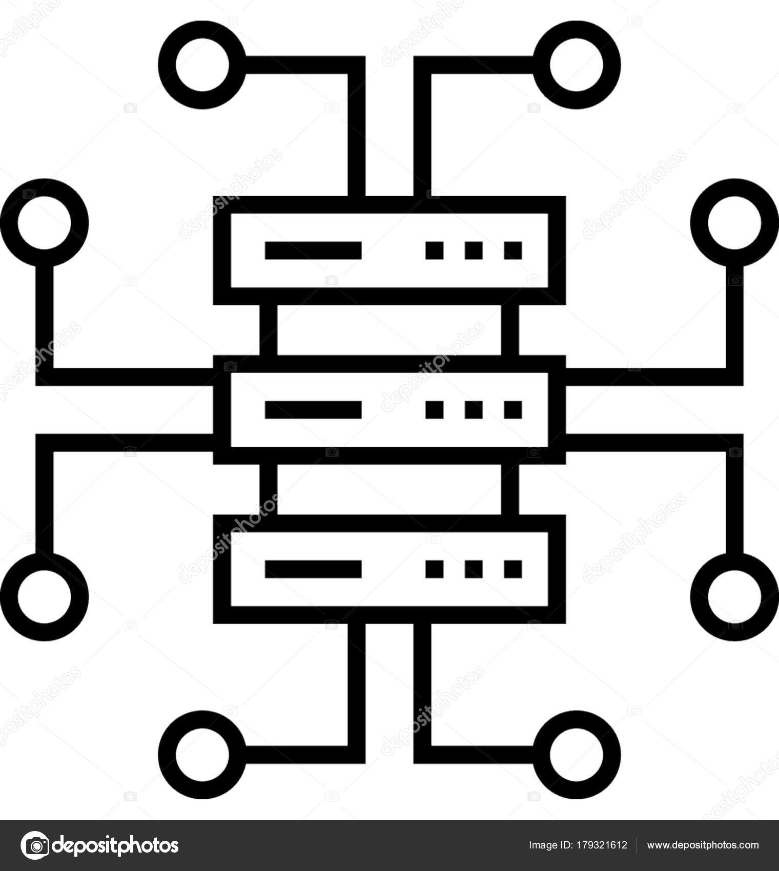 30+ Data Structure Icon