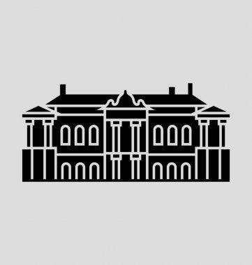 Catherine Palace  Vector Illustration
