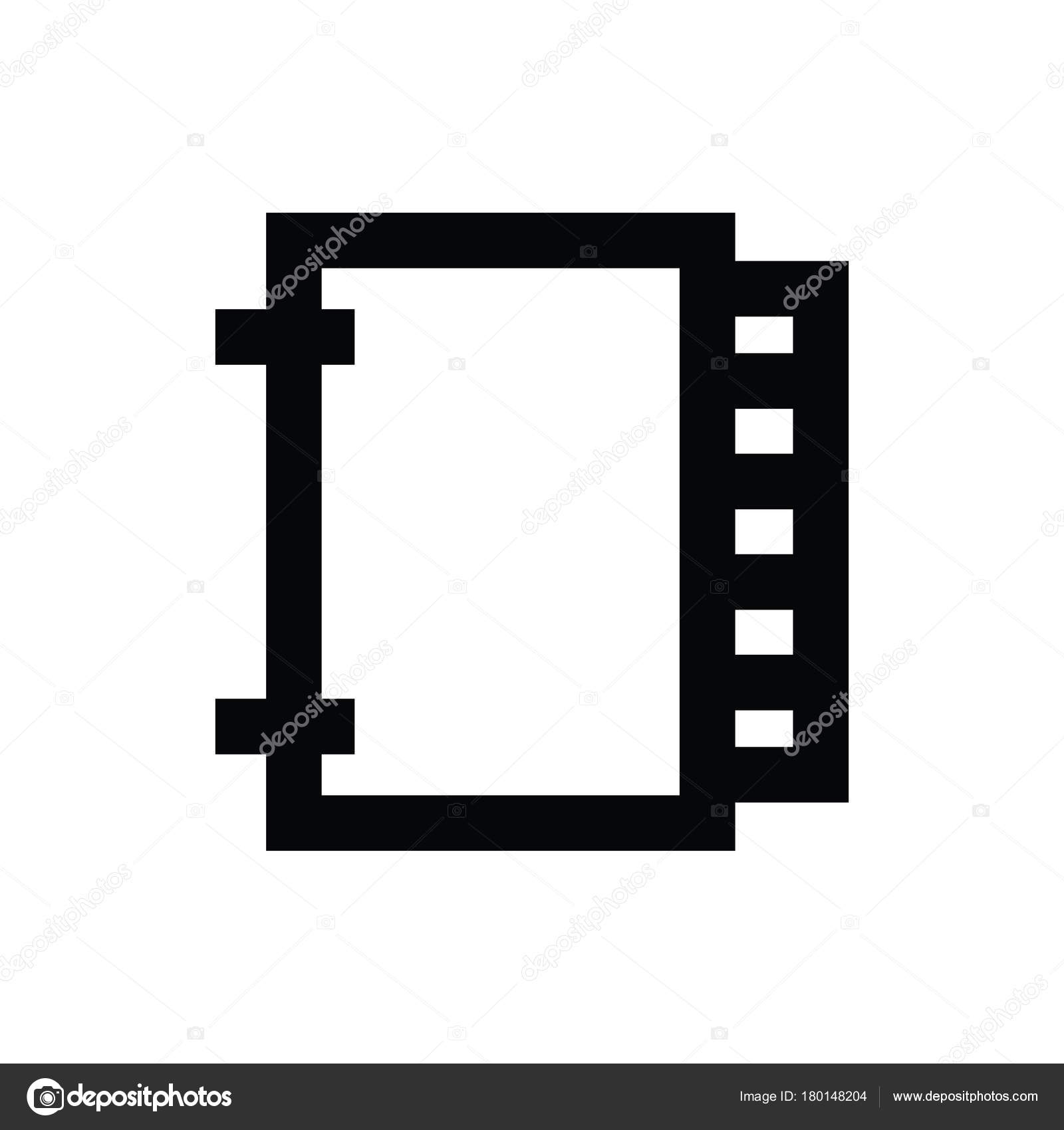 photo film vector icon stock vector creativestall 180148204 rh depositphotos com film icon vector png film awards icon vector