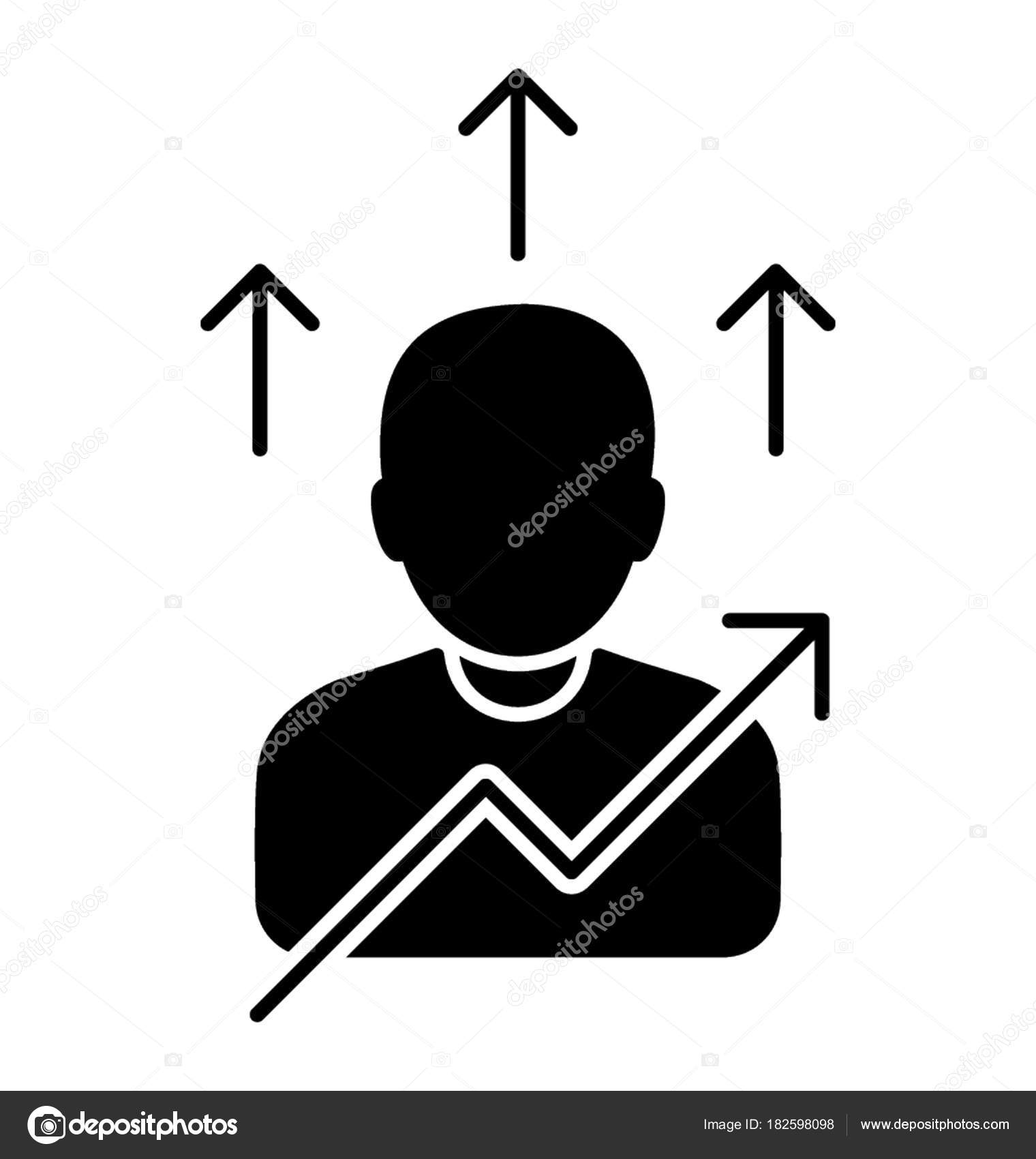 Icon Self Development Personal Growth Stock Vector Creativestall