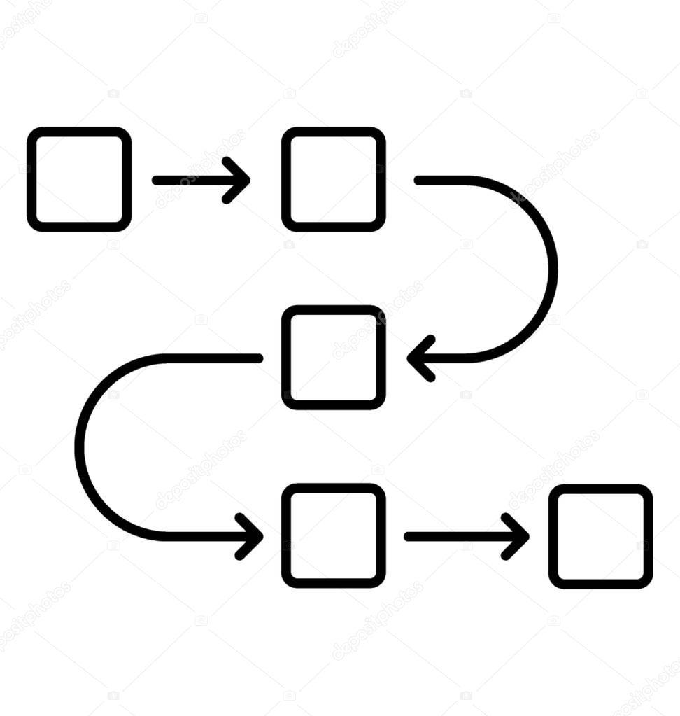 Ablauf Symbol
