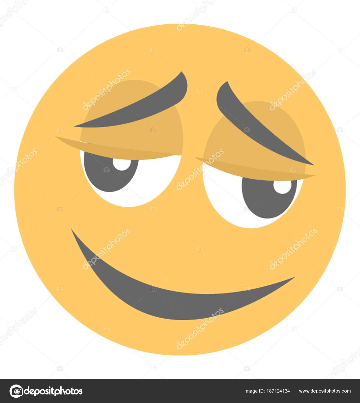 Was ist das Emoticon für das Erröten?