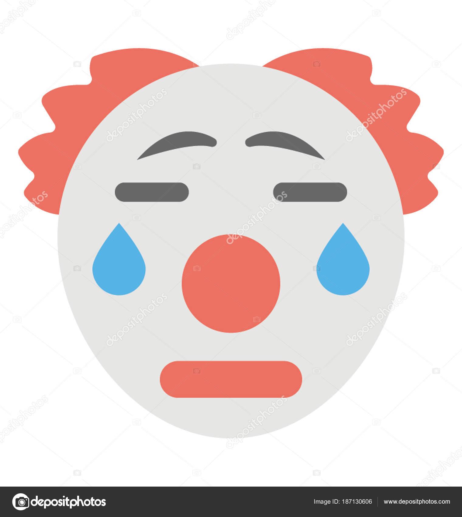 Imágenes Payasos Llorando Emoticon Que Representa Expresión Ser