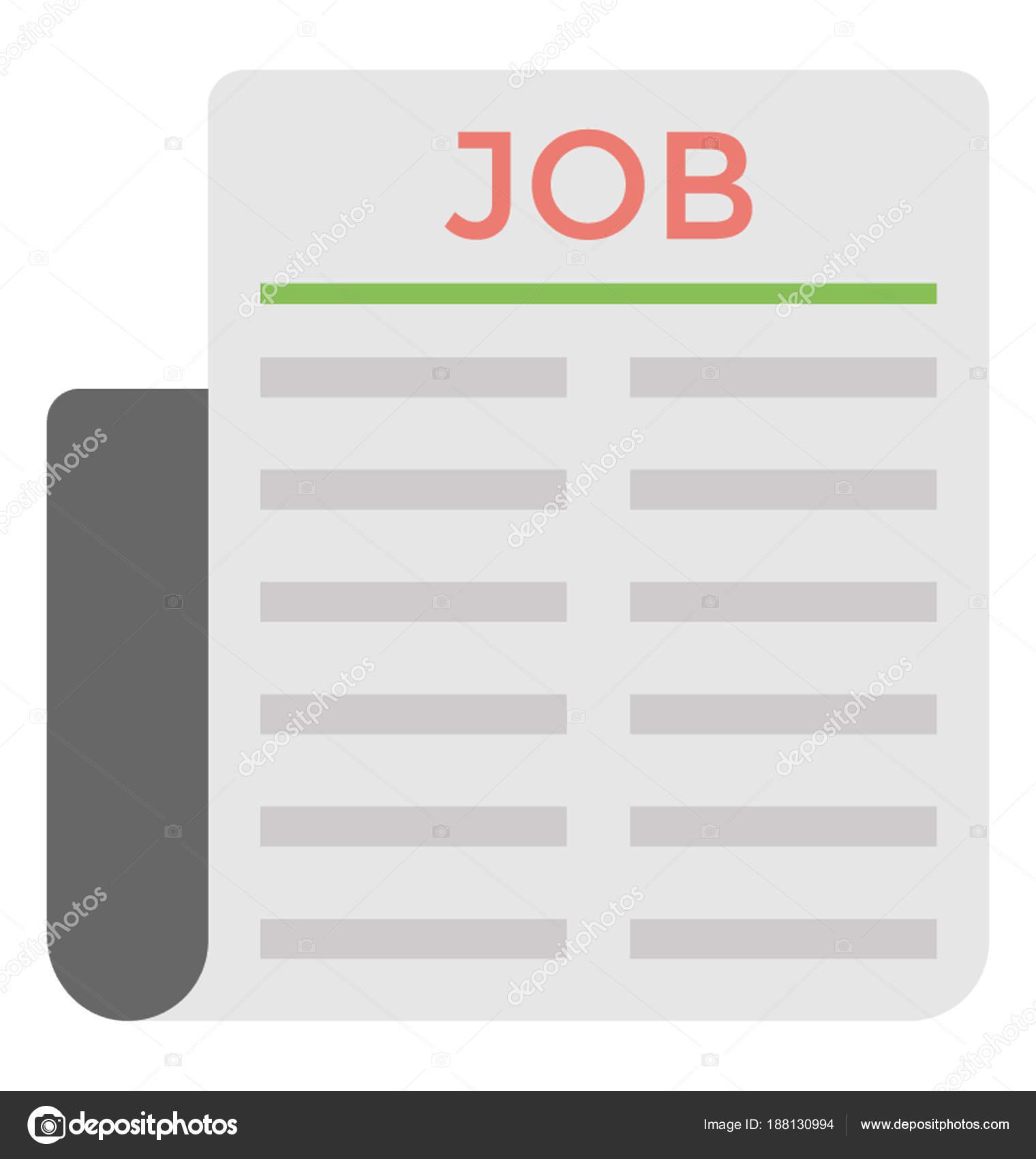 Newspaper Job Ads — Stock Vector © creativestall #188130994