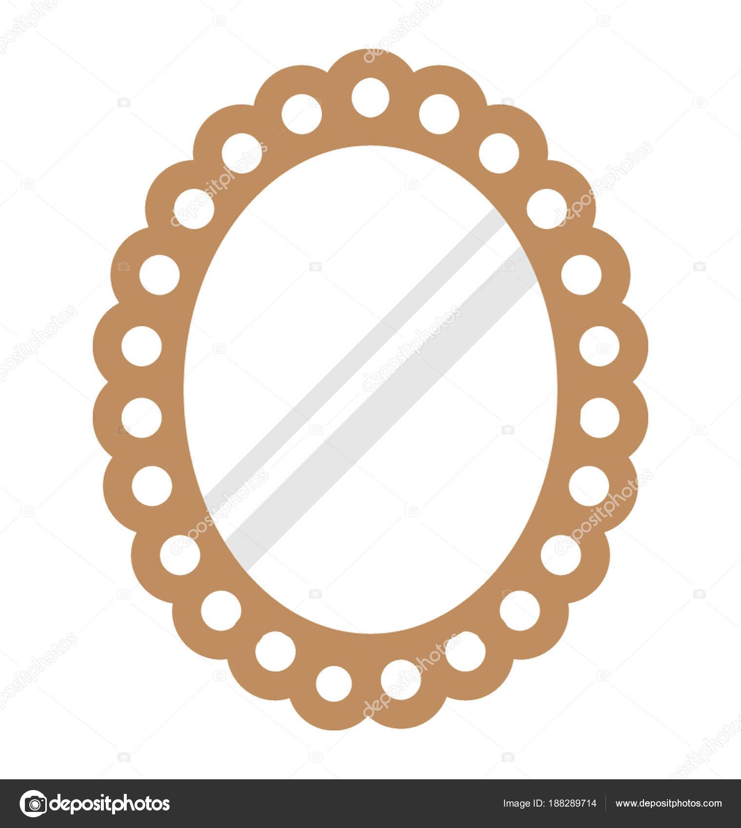 Valo forma espejo pared decorativos para decoraci n for Espejos decorativos con formas
