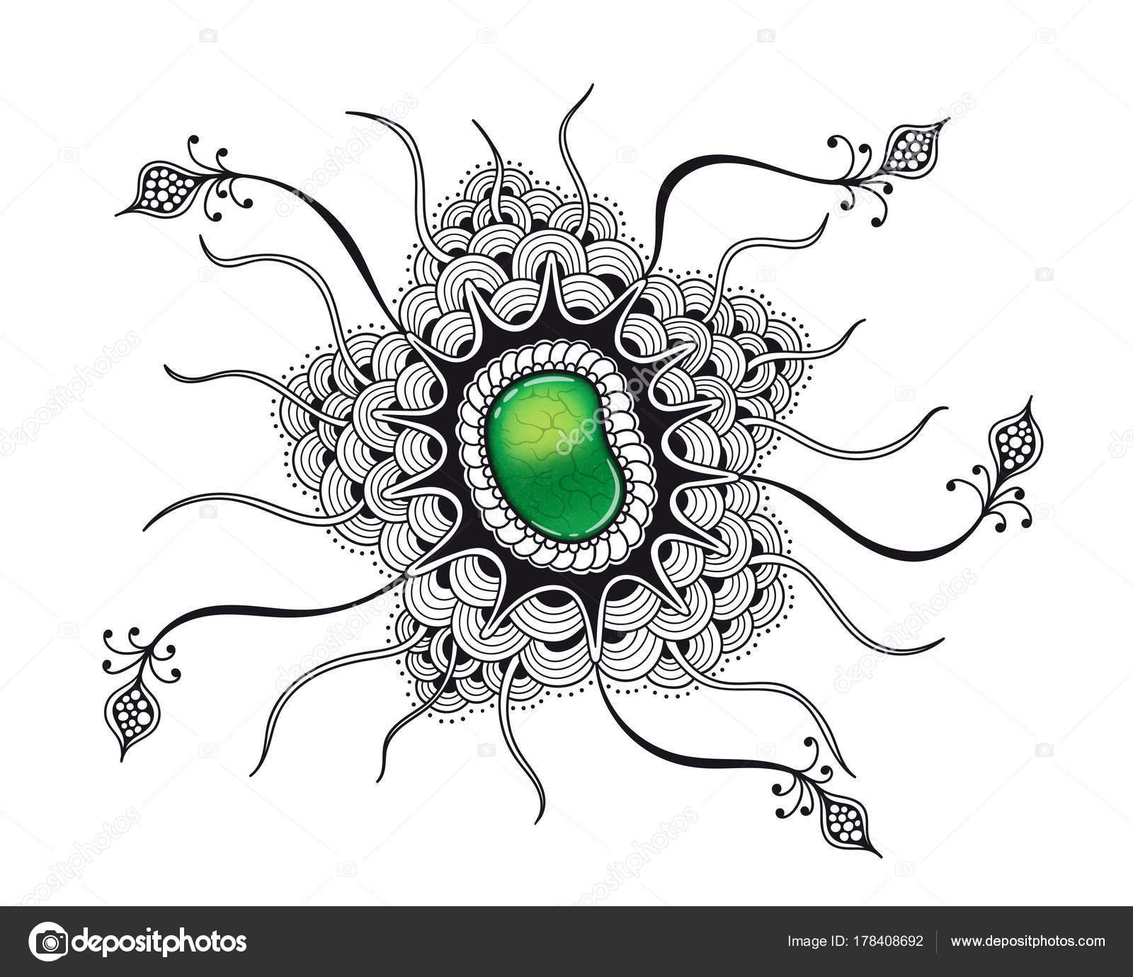 zen art gem — Archivo Imágenes Vectoriales © Den.the.Grate@gmail.com ...