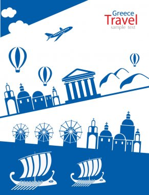 Greece travel banner