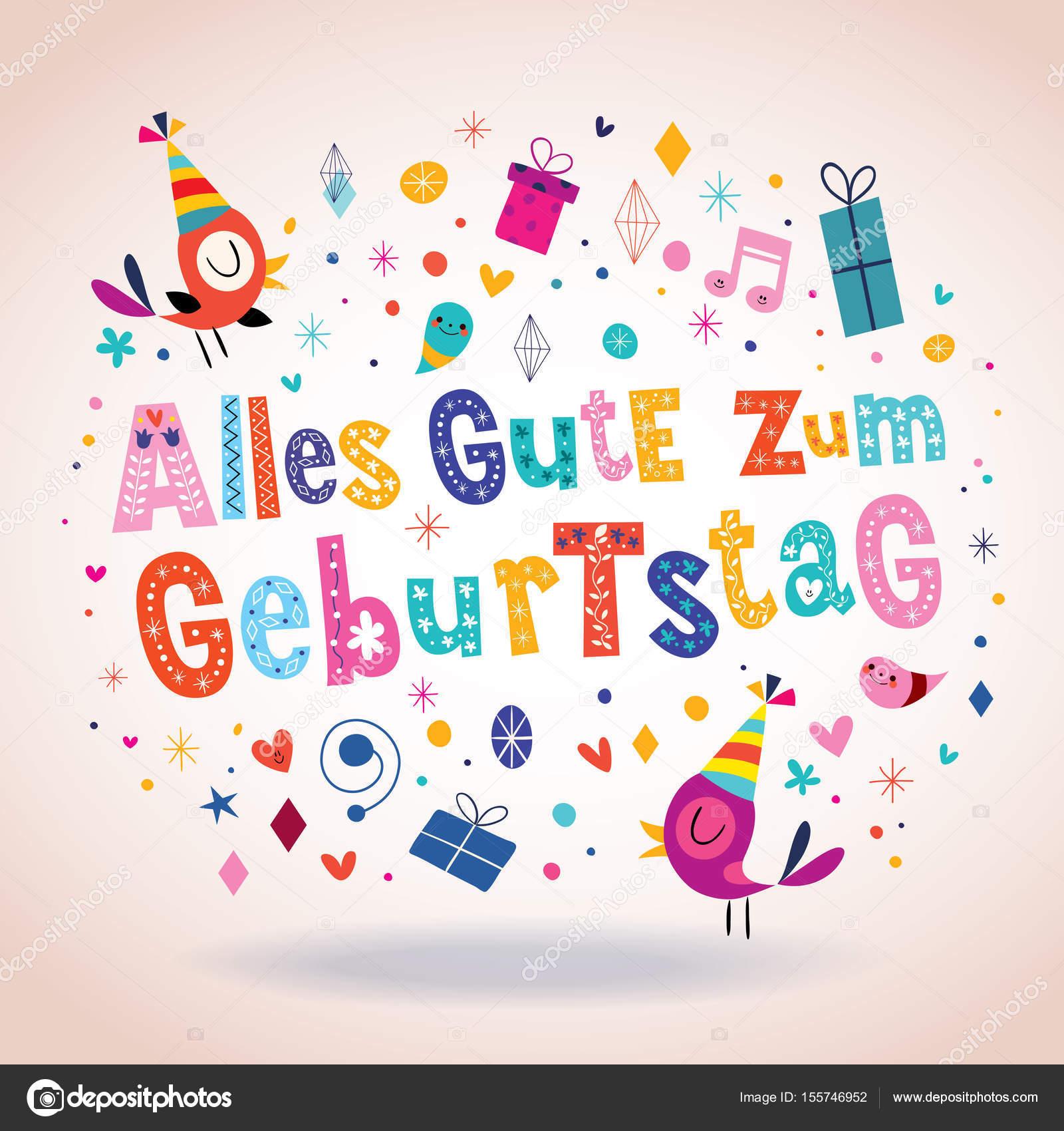 ярко картинки с днем рождения на немецком белорусской
