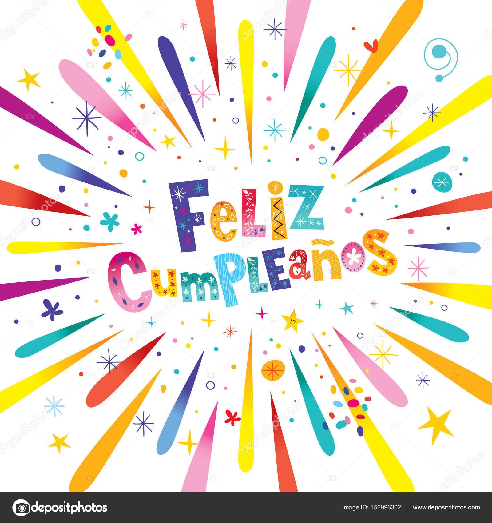 Feliz Cumpleanos Happy Birthday In Spanish Card