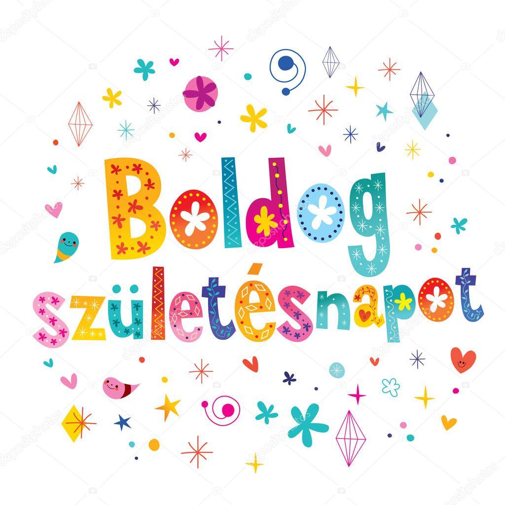 Открытки на венгерском языке с днем рождения, поздравлением