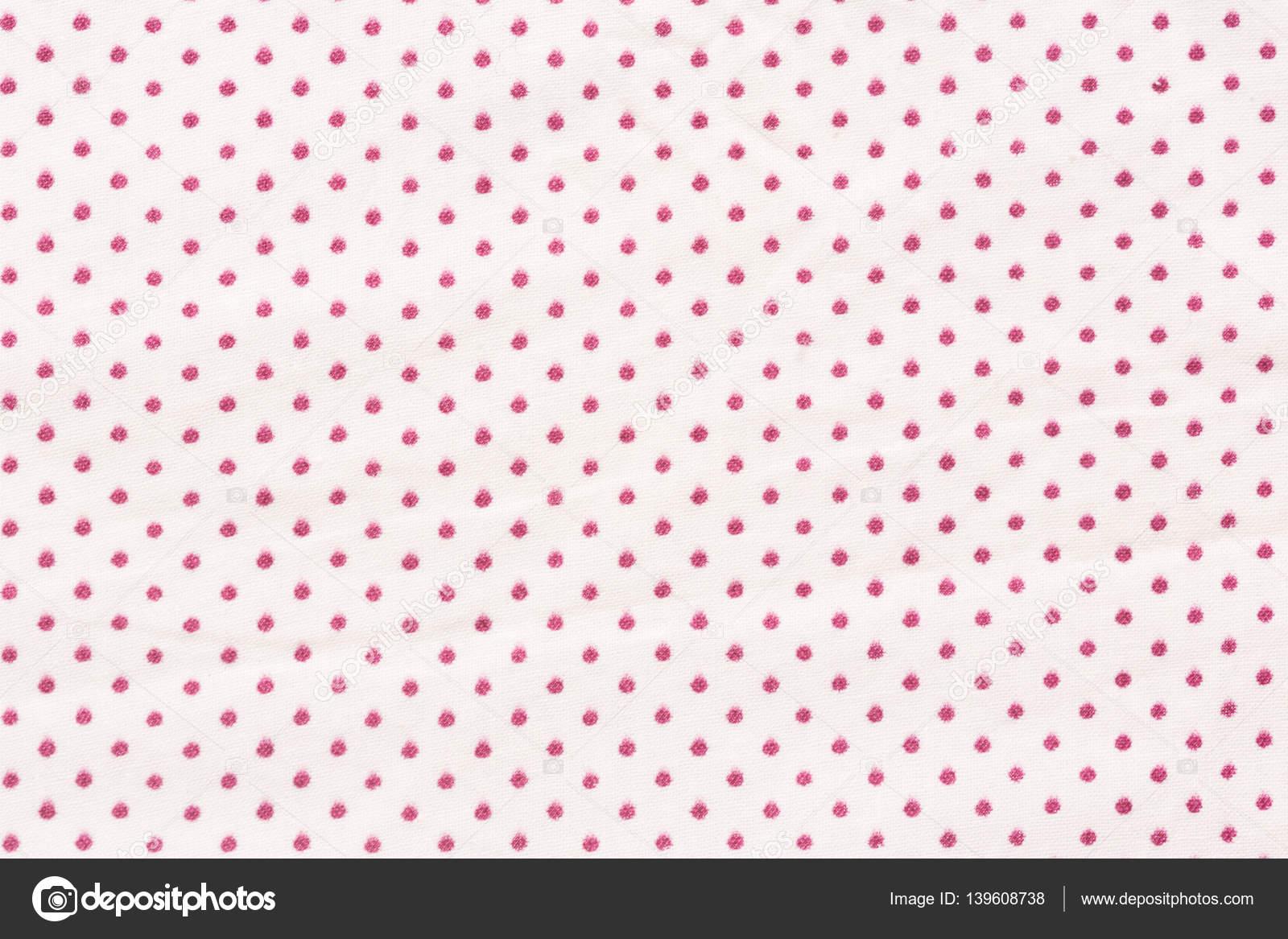 Sfondo A Pois Piccoli Bianco E Rosso Foto Stock Yamabikay