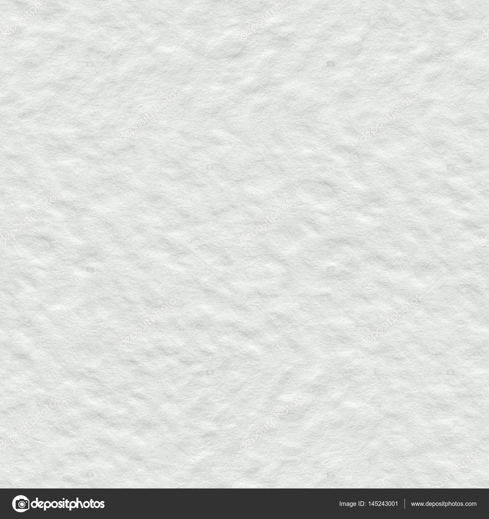 White Watercolor Paper Texture Seamless Square Background Tile Stock Photo