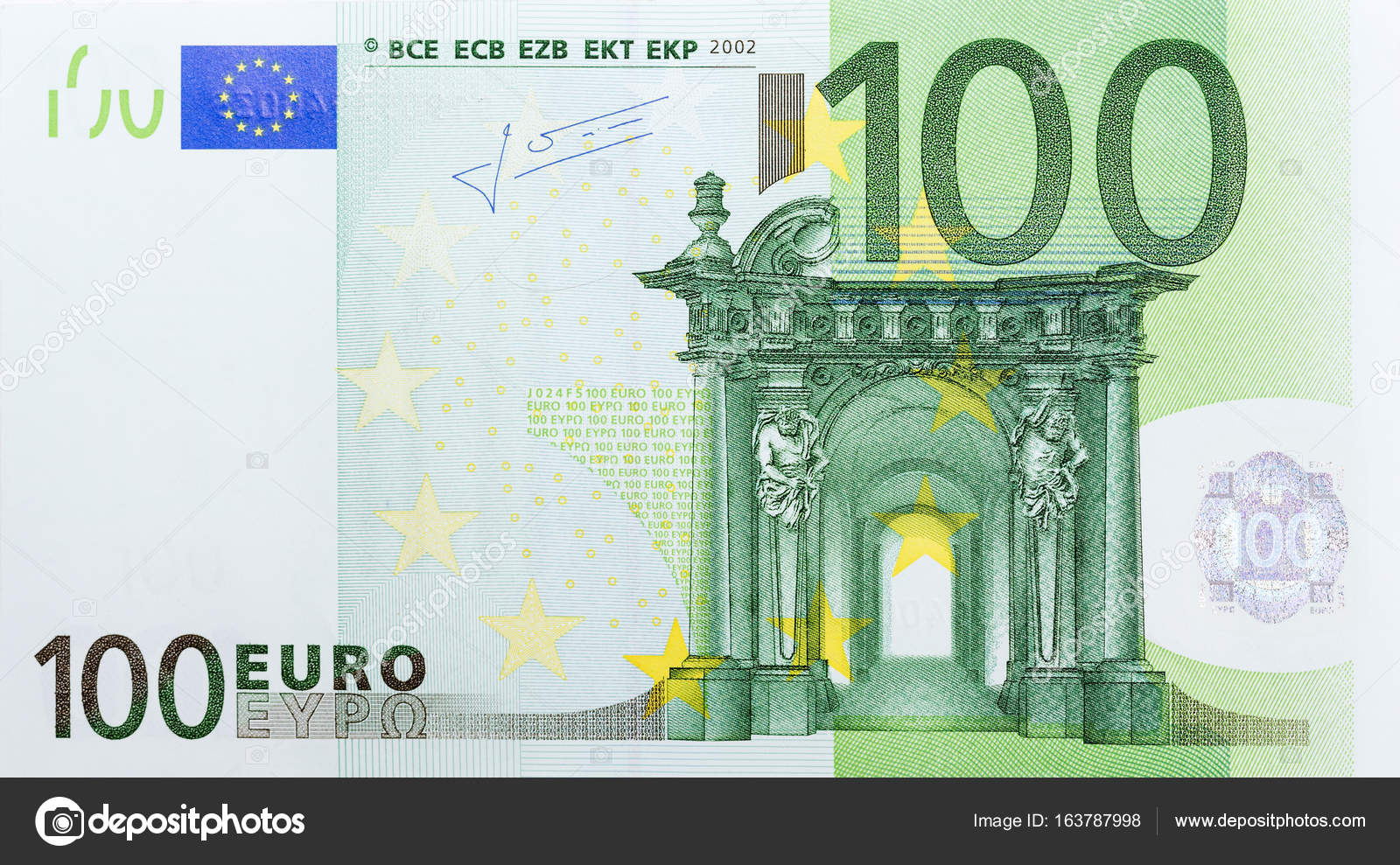 Notas de 100 euro fotografias de stock yamabikay for Sitzkissen gunstig 1 euro