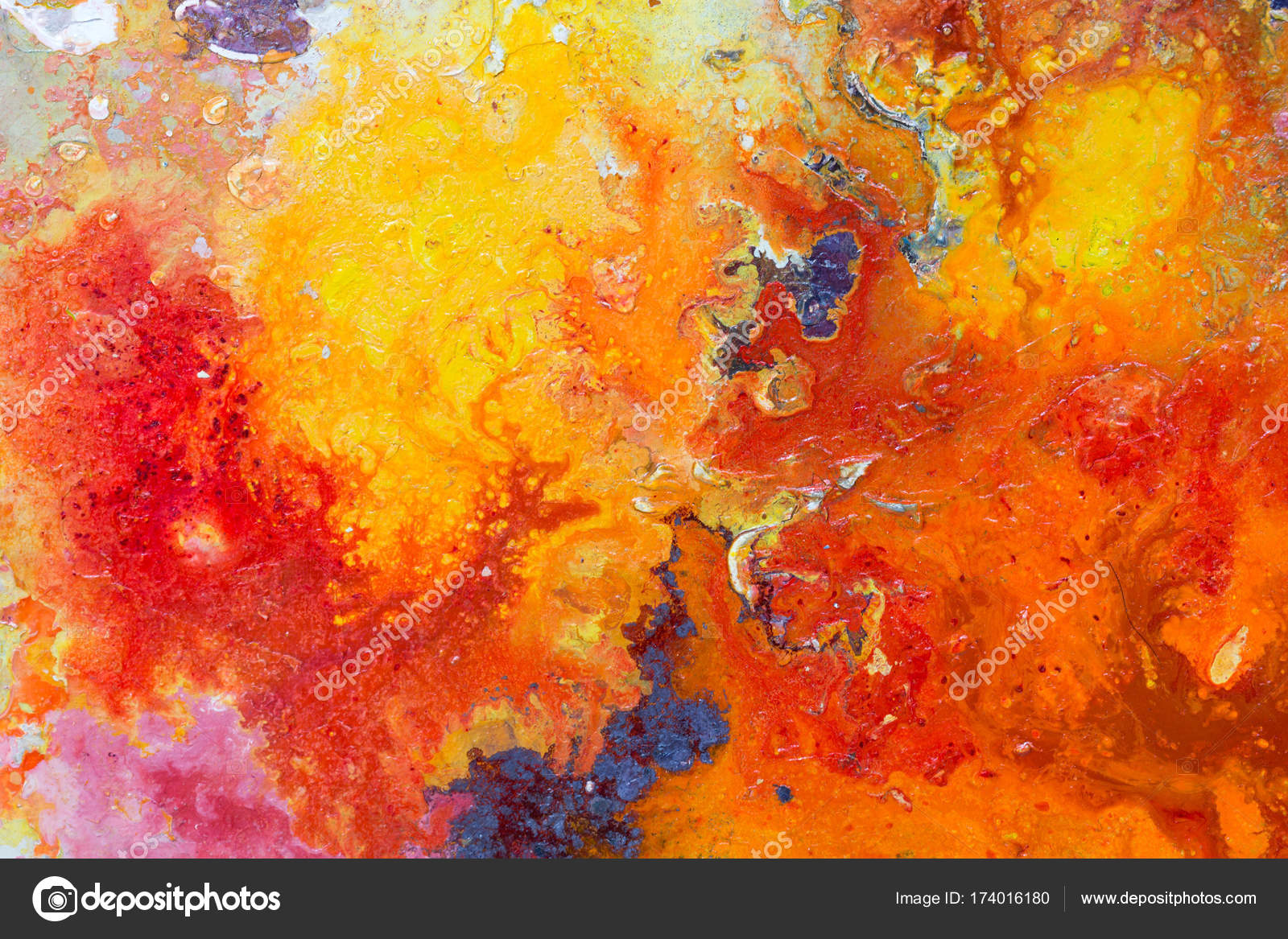 Abstract painting color texture Bright artistic background in r