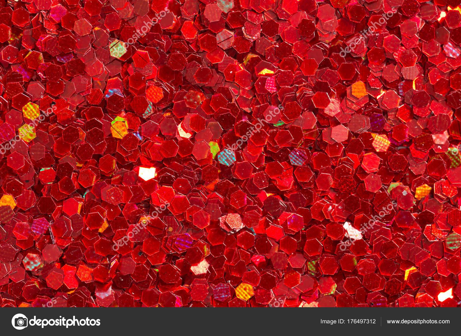 Sfondo Rosso Carminio Con Glitter Foto Stock Yamabikay 176497312