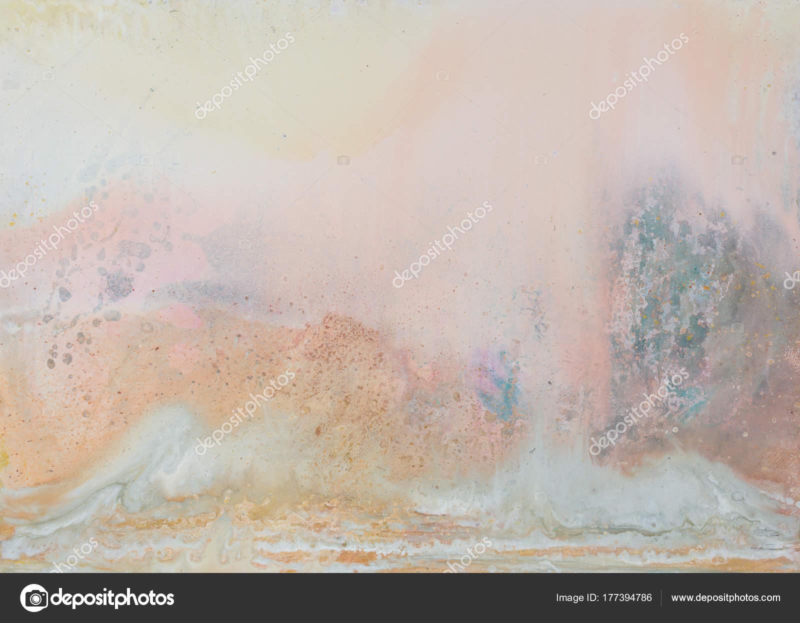 Abstrakte Als Hintergrund. Oli Malerei. Warme Farben. Hochauflösendes Foto  U2014 Foto Von Yamabikay