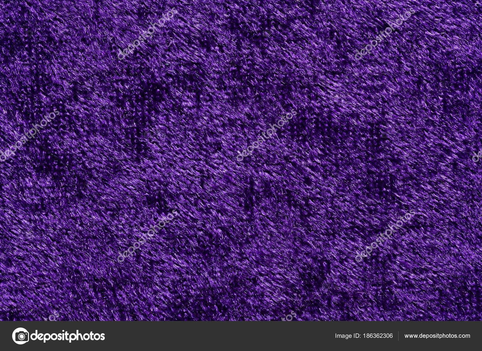 Elegant Fabric Texture In Contrast Violet Tone Stock Photo