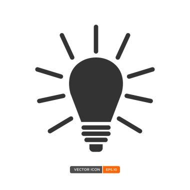 Lightbulb icon illustration