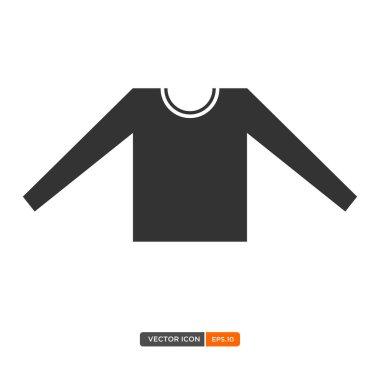 T-shirt icon illustration