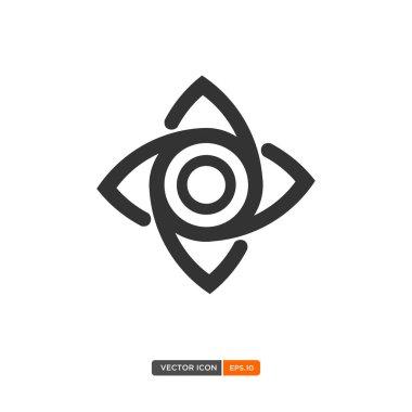 Twins eye icon