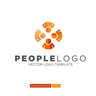 People Logo vector template