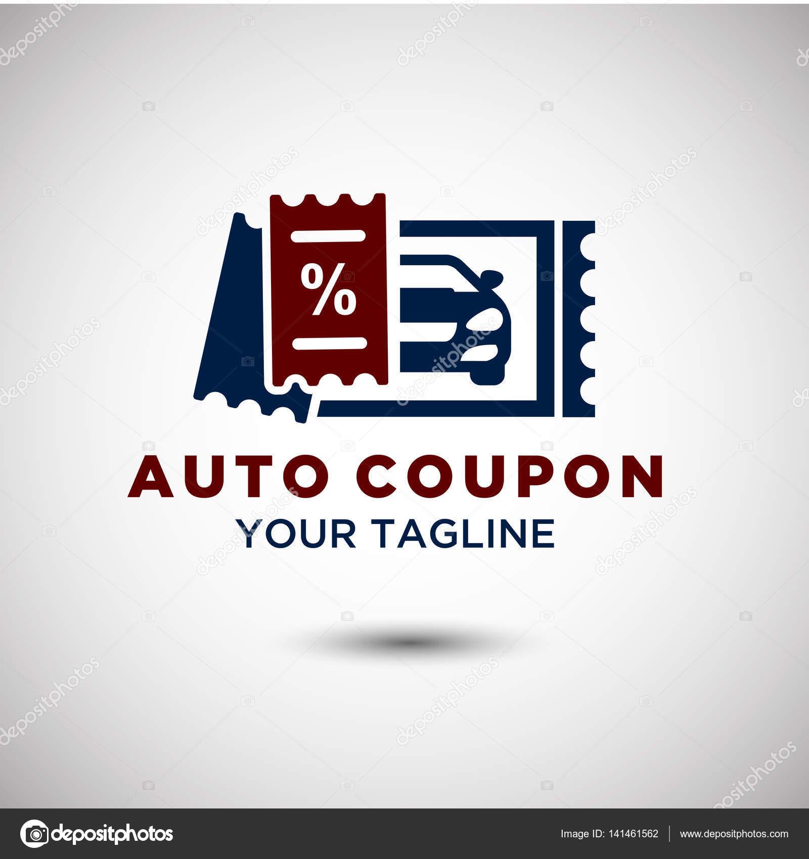 Auto Coupon Logo Stock Vector C Yugra 141461562