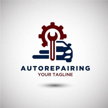 Auto Repairing Logo