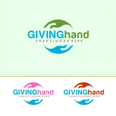 Giving Hand Logo