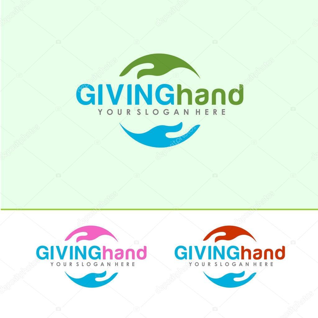 Giving Hand Logo
