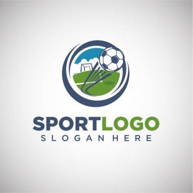 Sport Football Logo Template