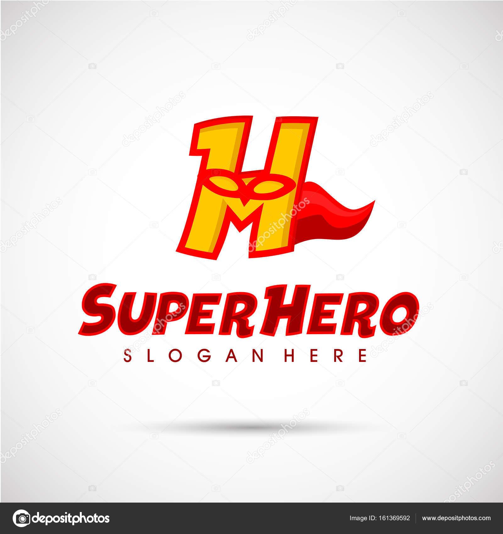 super hero logo template stock vector yugra 161369592